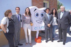 Inauguración del gabinete dental de la Cañada Real.