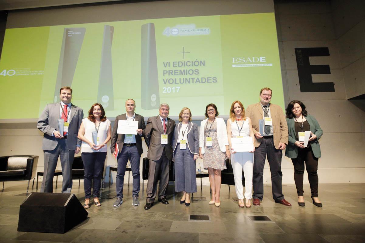 Fenin entrega sus Premios Voluntades de Responsabilidad Social Empresarial 2017